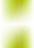 Green color halftone. Vector Royalty Free Stock Photography