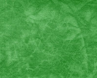Green color leather pattern. Stock Photography