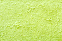 Green color mulberry paper Royalty Free Stock Photography