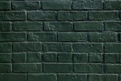 Green color paint wall Stock Photo