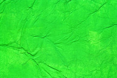 Green color painted paper royalty free stock image