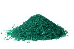 Green color sand Stock Photography