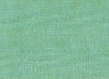 Green color textile cloth texture. Stock Photography