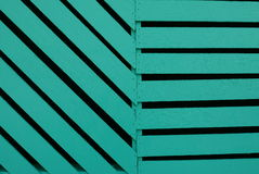 Green color of wood Stock Photos
