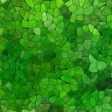 Green colored abstract marble irregular plastic stony mosaic pattern background  Royalty Free Stock Images