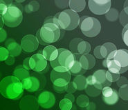 Green colored bokeh background. Texture Stock Images