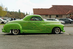 Green colored Dodge Stock Photos