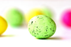 One green egg Stock Images