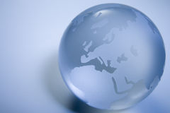Green Colored Globe Royalty Free Stock Images