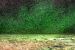 Green colored marble background Royalty Free Stock Images