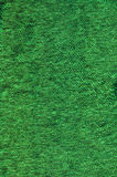 Green Colored Old Fabric Background Stock Photography