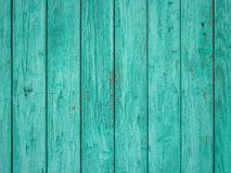 Green colored old wood plank texture background. Green wooden wall with old and weathered paint. Painted wood texture. Pastel wood planks texture background Royalty Free Stock Images