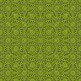 Green Colors Round grid Pattern. Korean traditional Pattern Desi Stock Images