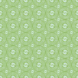 Green Colors Round grid Pattern. Korean traditional Pattern Desi Royalty Free Stock Photos