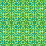 Green Colors Round grid Pattern. Korean traditional Pattern Desi Stock Photos
