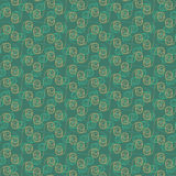 Green Colors Wave Pattern. Korean traditional Pattern Design Ser Royalty Free Stock Images