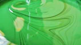 The green colour paint Royalty Free Stock Images
