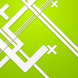 Green colourful technical background Stock Images