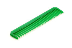 Green comb Royalty Free Stock Photo