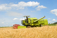 Green combine Royalty Free Stock Photography