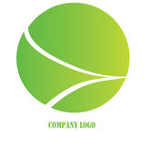 Green company logo Stock Photography