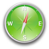 Green compass Royalty Free Stock Photography