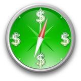 Green compass Stock Photo