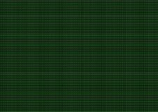 green computer code Stock Image