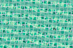 Green Computer Generated Abstract Geometric Pattern Stock Image