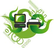 Green computing Stock Images