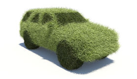 Green concept car. Clean fuel. Stock Photography