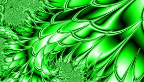 Green concept fractal design for web, background, invitation or card for spring or Saint Patrick`s day effect green leaf closeup vector illustration
