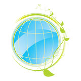 Green concept icon Royalty Free Stock Images