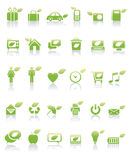 Green Concept Icon. A set of environment concept icons stock illustration