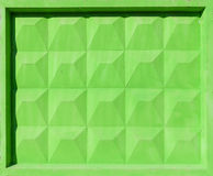 Green concrete fence block Stock Photos