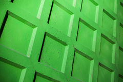 Green concrete fence wall Royalty Free Stock Photos
