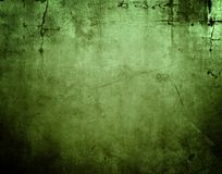 Green concrete wall. Closeup of green textured wall Stock Images