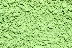 Green concrete wall. Royalty Free Stock Image