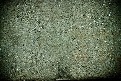 Green concrete wall texture Royalty Free Stock Images
