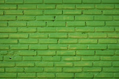 Green concrete wall Royalty Free Stock Image