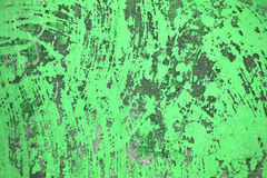 Green concrete wall texture, painted cement, closeup Stock Photography
