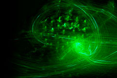 Green Confusion Royalty Free Stock Photography