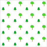 Green trees background Royalty Free Stock Photography