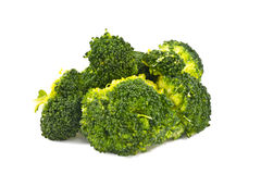 Green cooked broccoli Royalty Free Stock Image