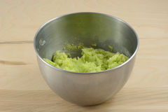 Green cookie dough Royalty Free Stock Photo