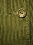 Green corduroy 6 Stock Images