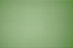 Green corrugated cardboard Royalty Free Stock Photography