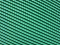 Green corrugated cardboard Stock Images