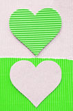 Green corrugated Royalty Free Stock Photo