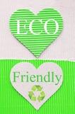 Green corrugated Royalty Free Stock Image